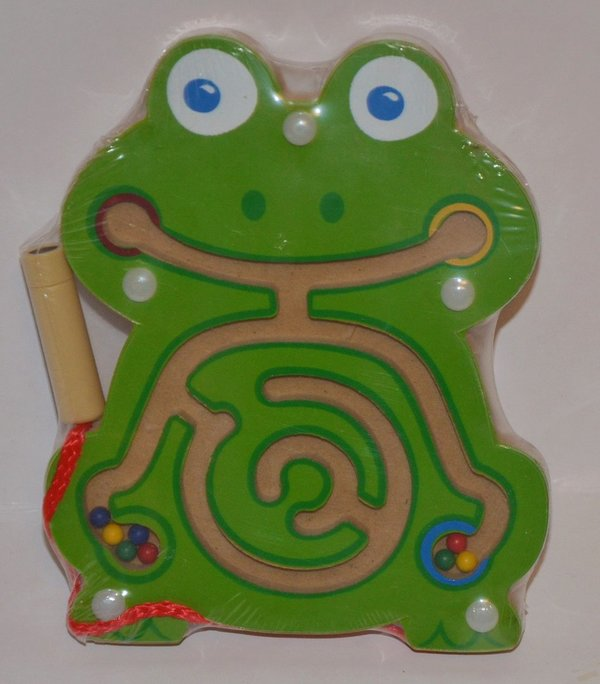 Magnet Labyrinth Frosch